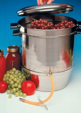Aluminum Steam Juicer