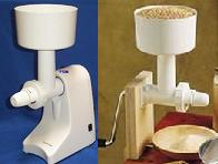 Family Living Grain Mill w/Motor and FREE HAND BASE!