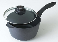 "Swiss Diamond 8"" Covered Sauce Pan"