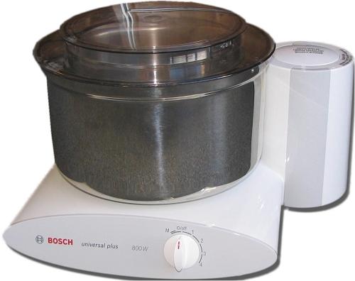 Bosch Universal Plus Mixer W Stainless Steel Dough Bowl