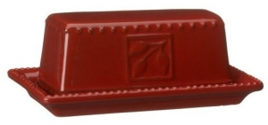 Ruby Sorrento Butter Dish