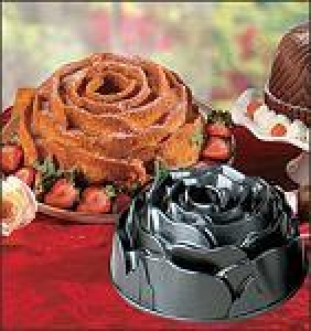 Nordicware Rose Bundt Cake Pan