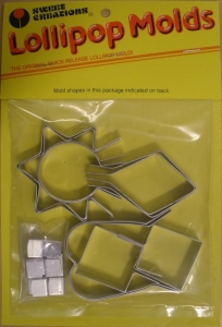 Sweet Creations Metal Lollipop Molds - Geometric (Set of 10)