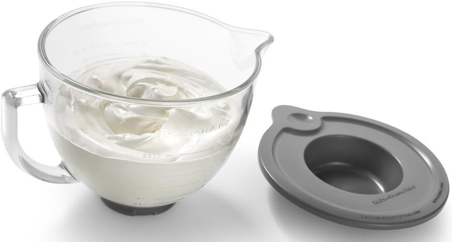 Kitchenaid 5 Qt Glass Mixing Bowl W Handle Fits Tilt Head Mixers