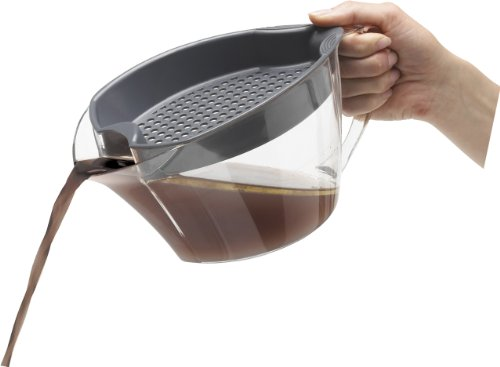 Trudeau Fat Separator With Strainer For Your Kitchen