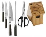DM2002B - Kershaw 6 Piece Block set W/ Bamboo Block