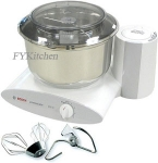 "Bosch Universal Plus Mixer With ""New Style"" Stainless Steel Bowl"