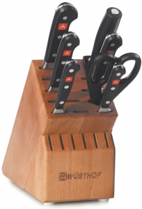 Wusthof Classic 8 Pc Block Set